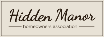 Hidden Manor HOA Logo